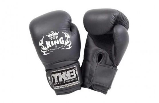 "Боксёрские перчатки Top King Black / Gold ""Empower"""